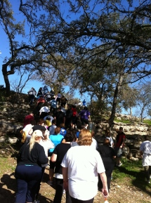 The ATX100 take to the steps.
